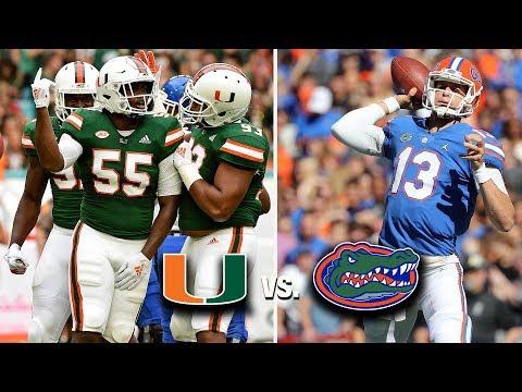 Miami Hurricanes vs Florida Gators: 2019 Game Preview