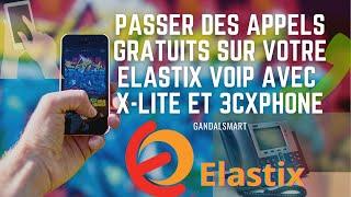 Configuration des appels gratuit VOIP sous Elastix