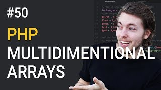 50: What are multidimensional arrays in PHP - PHP tutorial