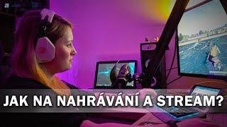 Jak na nahrávání herního videa a na stream? - AlzaTech #682