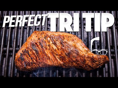 PERFECT TRI TIP ON THE GRILL (EASY STEAK RECIPE!)