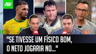 Craque Neto jogaria em qual clube europeu de hoje? Olha esse debate