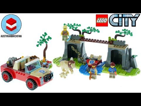 Vidéo LEGO City 60301 : Le tout-terrain de sauvetage des animaux sauvages