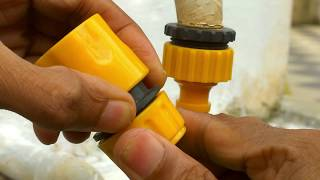 Tap Adapter for Garden Hose - How to Connect