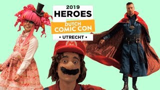 Dutch Comic Con experience 2019 Utrecht - Cosplay Music Video