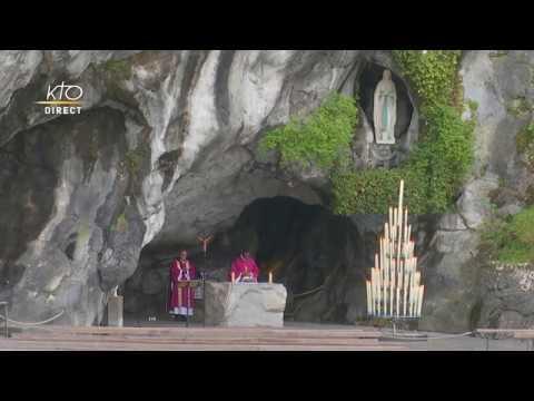 Messe du 23 mars 2020 à Lourdes