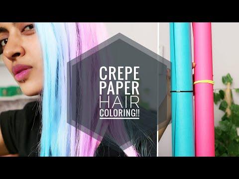 Download Crepe Paper Hair Dye Diy Mp3