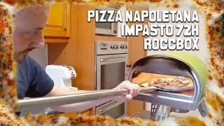 Pizza Napoletana Con Roccbox + Impasto 72 Ore