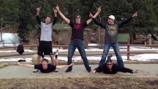 Five Guys Dancing to C'Mon by Ke$ha