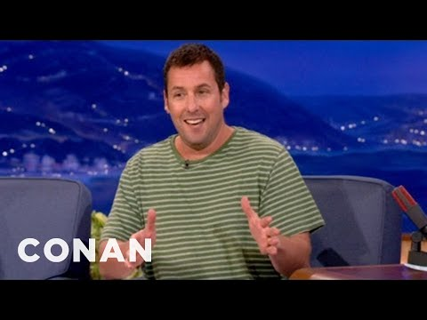 Adam Sandler movies aren't what they used to be but the man can tell a joke...