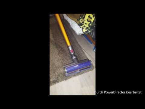 Dyson V8 Hochflorteppich