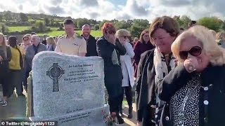 Hilarity Irish Funeral when pre recorded Message of Dead Man Plays