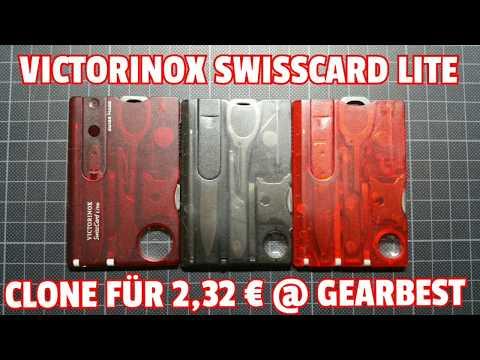 ✔VICTORINOX SWISSCARD LITE Clone f. 2,32 € @ GEARBEST