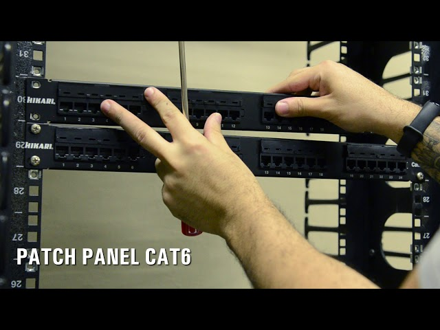 Imagem Patch Panel Universal CAT.5e