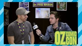 Interview with Paul Mason at Oz Comic-Con