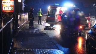 Krosno: Tragiczny wypadek na Zręcińskiej. Zginął pieszy