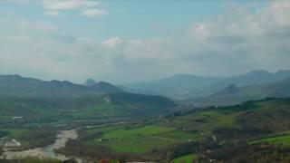 preview picture of video 'Valmarecchia - vista da Verucchio (time-lapse)'