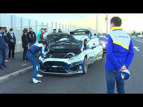 Rally Islas Canarias, avec Adrien Fourmaux et Renaud Jamoul