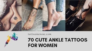 70 CUTE ANKLE TATTOOS FOR WOMEN