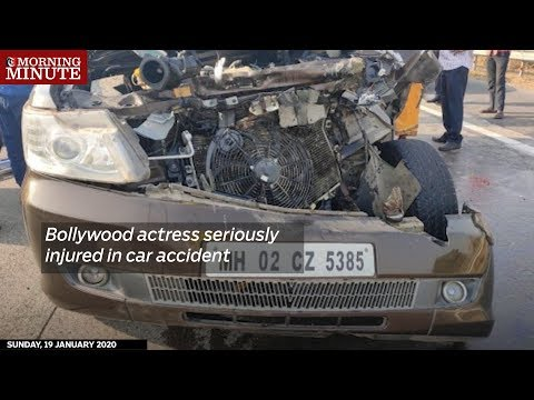 Bollywood actress seriously injured in car accident