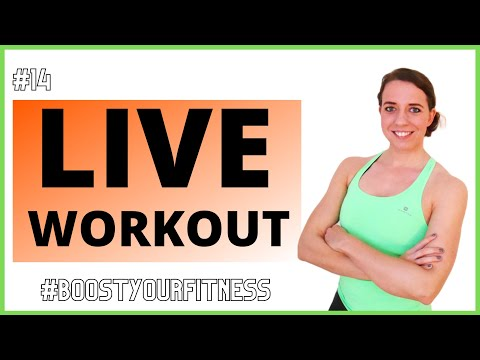 Boost Your Fitness Program – Live Workout #4
