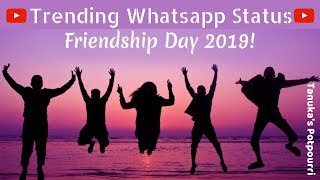 Happy Friendship Day whatsApp status Video 2019 | Best friends greetings quotes | Dosti Status