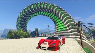 ESPIRAL DE TURBOS!!! - CARRERA GTA V ONLINE - GTA 5 ONLINE