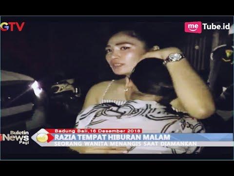 Beberapa Wanita Cantik Terjaring Razia Diskotek di Badung, Bali - BIP 17/12