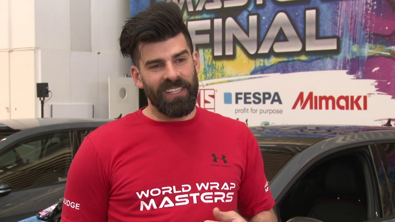 <p>FESPA TV speaks to Kiss Lajos, the World Wrap Masters Head Judge. Kiss 'Luigi' Lajos is an experienced wrapper, running his company Fixfolia from Hungary, but wrapping all over the world. Kiss was World Wrap Master 2014 and 2015, after which he stepped back from competing to support the industry in his capacity as judge for the competition.</p>
