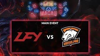 [Dota 2 Live Indonesia]: LFY (China) vs VIRTUS PRO (Russia) (BO1) @ Main Event MDL Macau