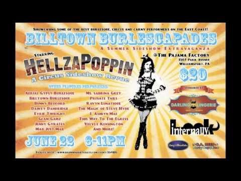 Billtown Burlescapades Promo #2 - Backyard Broadcasting Video