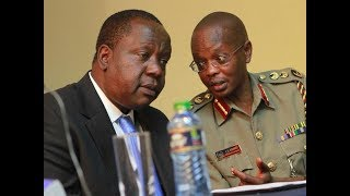 Inspector General of police Joseph Boinnet and Interior CS Fred Matiang'i attend IPOA handover
