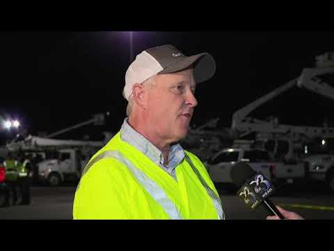 Power crews are arriving in Florida ahead of Hurricane Michael. Spokesman Gordon Paulus of Gulf Power, which provides electricity in Northwest Florida, says thousands of workers are in place, many of them from other states. (Oct. 10)