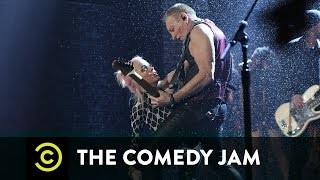 """The Comedy Jam - Taryn Manning & Phil Collen - """"Pour Some Sugar on Me"""""""