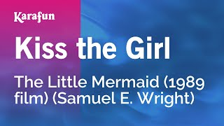 Karaoke Kiss The Girl - The Little Mermaid *