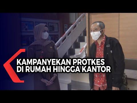 asn di kabupaten banjar ini aktif kampanyekan protokol kesehatan dari rumah hingga kantor