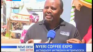Coffee farmers converge for the 4th international coffee expo held in Nyeri county