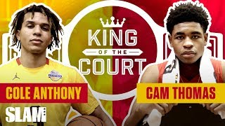 FINISH IN STYLE: Cole Anthony SLAMS it for the W | SLAM King of the Court