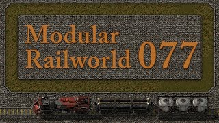 Factorio Modular Railworld #62 - Running around with Radars