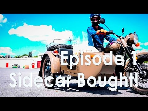 We bought a sidecar! (EP 1 – Monday Never Sidecar)