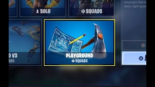"HOW TO PLAY ""PLAYGROUND"" GAME MODE IN SEASON 2 CHAPTER 2 (FORTNITE)"