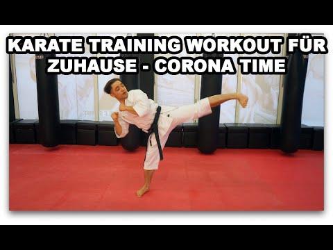Karate Training Workout für Zuhause