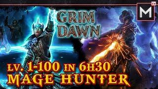 Mage Hunter Leveling 1 to 100 in 6Hr30Min - Grim Dawn (Inquisitor Arcanist)