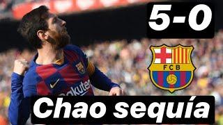 5-0 Huracán Messi y adaptación de Braithwaite ante el Eibar. #MundoMaldini