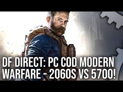 DF Direct! COD Modern Warfare PC Beta: RTX 2060 Super vs RX 5700 Let's Play!