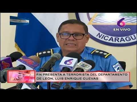 Policía Nacional presenta a terrorista que operaba en León