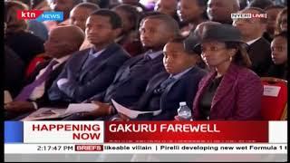President Uhuru Kenyatta:Wahome was a true patriot of this country