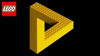 I Built the IMPOSSIBLE LEGO Triangle! (Crazy LEGO Illusions)