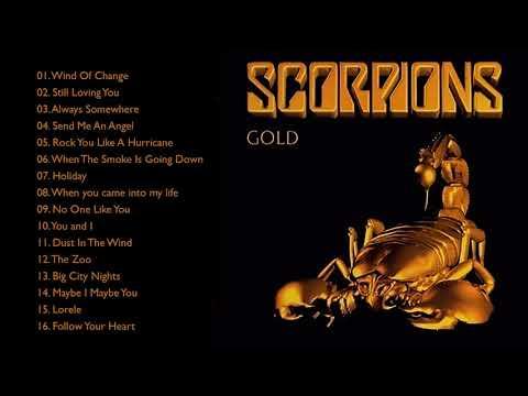 S C O R P I O N S Gold Greatest Hits Full Album - Best Songs Of S C O R P I O N S Playlist 2021
