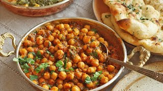 Chana Masala Recipe • Chickpea Curry Recipe • Chole Bhature Recipe • How To Make Chickpeas Recipe